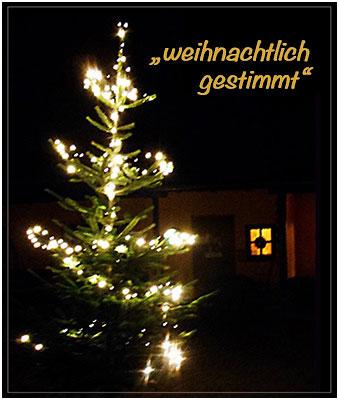 """Flyer """"weihnachtlich gestimmt"""""""